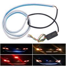Autó tuning - Hátsó LED kijelző szalag, Fehér/Piros/Kék/Sárga