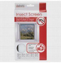 Szúnyogháló ablakra, fehér - 100x100 cm